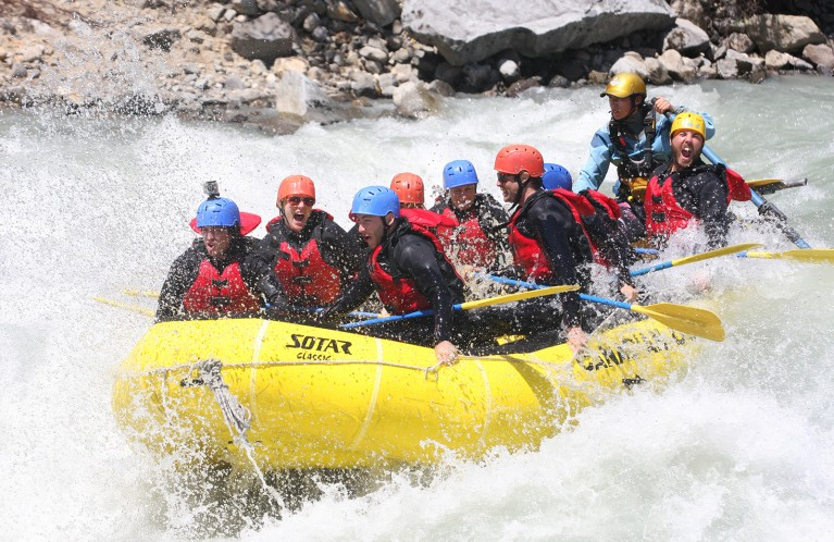 White Water Rafting in Vancouver