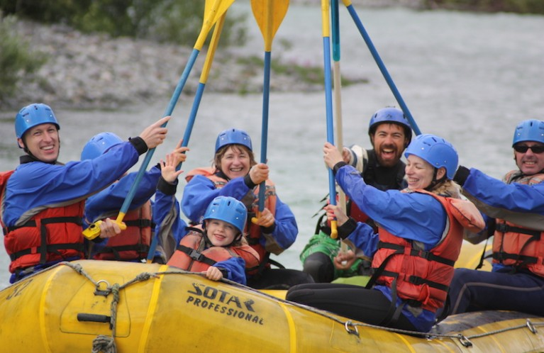 FAMILY RAFTING TRIPS IN VANCOUVER